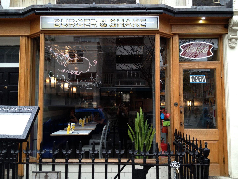 Burger in London!