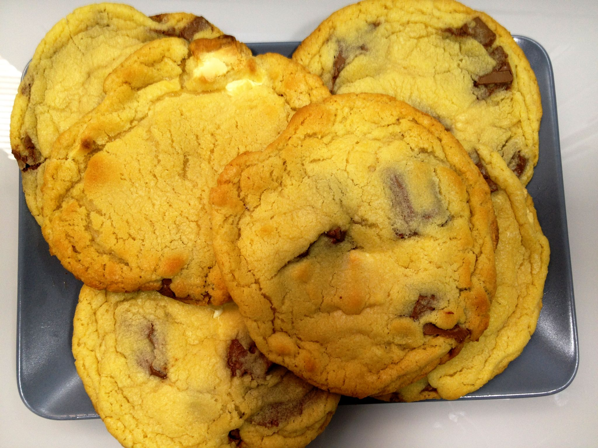 I totally recommend you to make them. You won't regret it! It is ALWAYS a  pleasure to eat a mouth-watering chocolate cookie. Also, you can eat them  with a ...