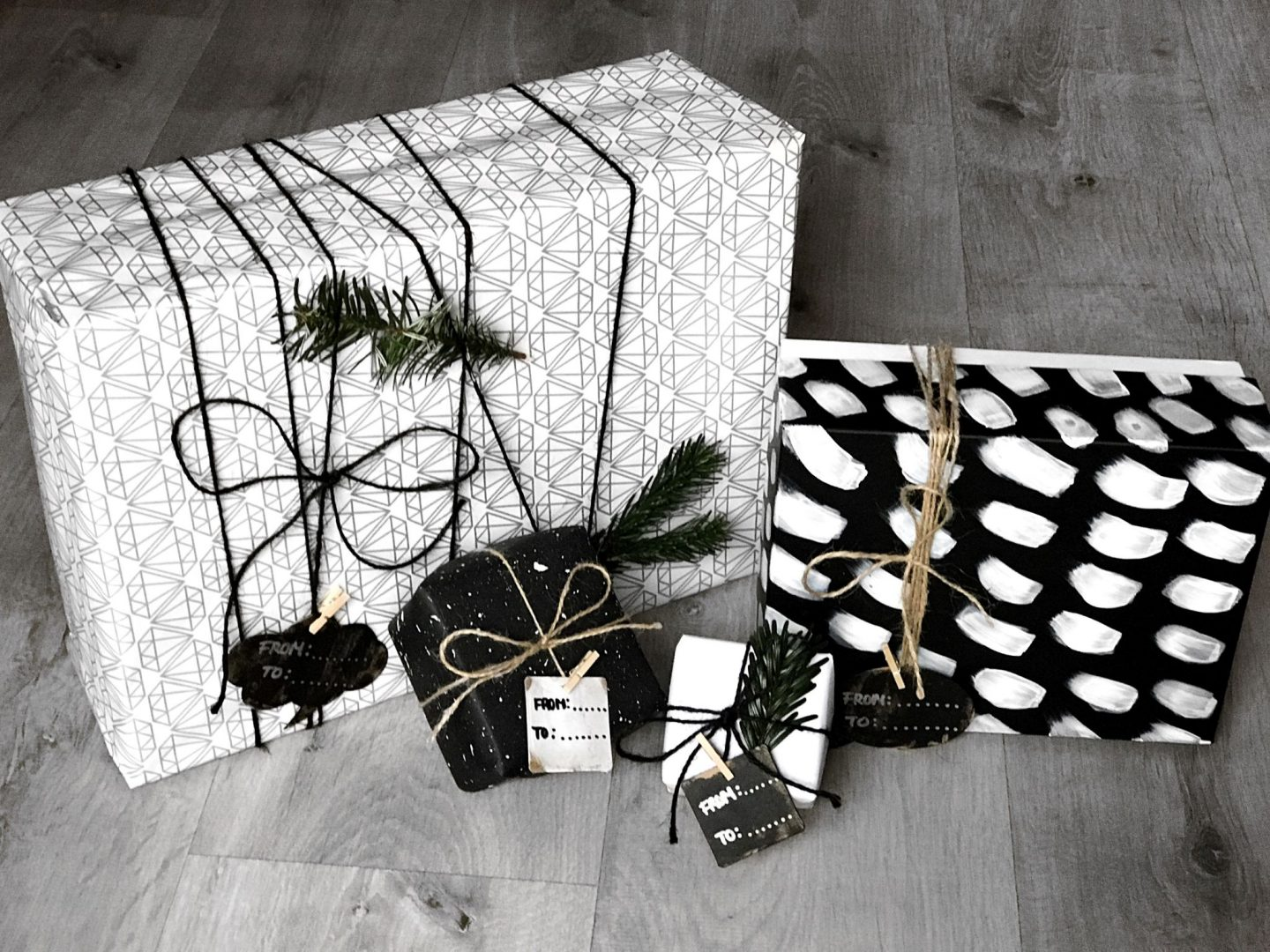 Minimal Gift Wrapping Ideas