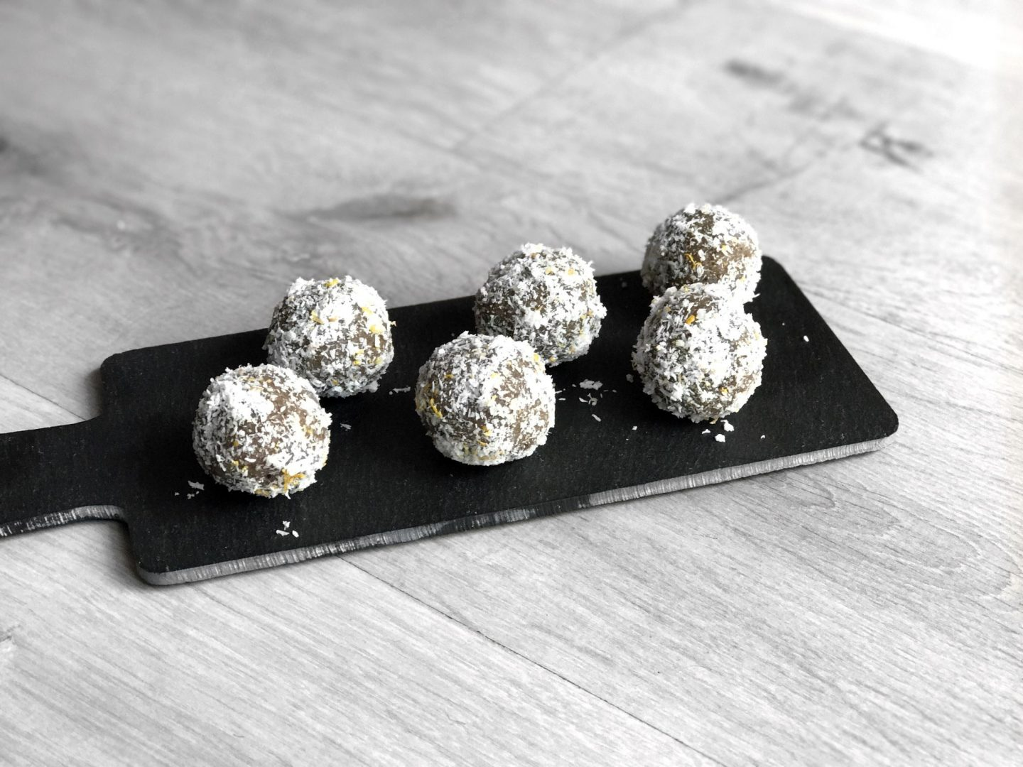 Lemon Coconut Bliss Energy Balls